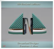 DD Bookend Sailboats GIFT
