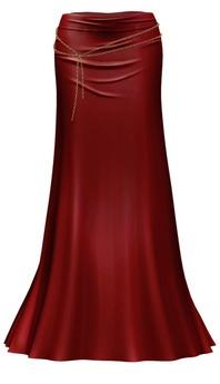 *Just BECAUSE* Elise Maxi Skirt - Red - Maitreya,Belleza,Slink