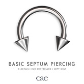 Cae :: Septum Piercings :: Basic 4 [bagged]