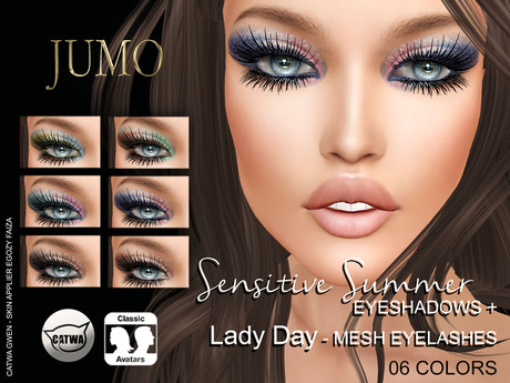 .:JUMO:. Sensitive Eyeshadow - CATWA