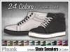 [Phunk] Unisex Skate Sneakers (24 Colors)