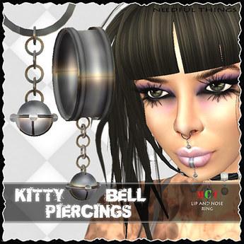 *NT* Kitty Bell Piercings (Neko Punk Style)