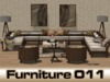 Living room - Patio Sigma - 128 animations - PG - Sofa for 10 sitters