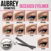 """Aubrey Cosmetics // The """"Deceased"""" Eyeliner Applier"""