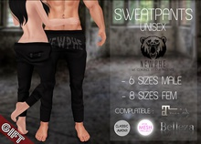 .Chicago Ink. & Newphe - Sweatpants Unisex {GIFT}