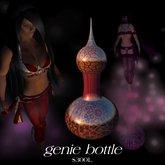 Ilse's Animations - Purple Genie Bottle