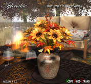 Aphrodite Autumn flowers vase (copy/mod)