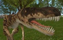 Raptor mesh 12 prim