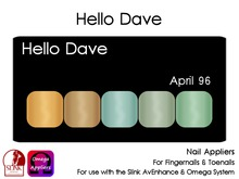 Hello Dave - Nail Appliers - April 96