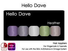 Hello Dave - Nail Appliers - Heather