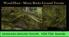 Vita's Ground Texture-Mossy Rocks  SEAMLESS 1024
