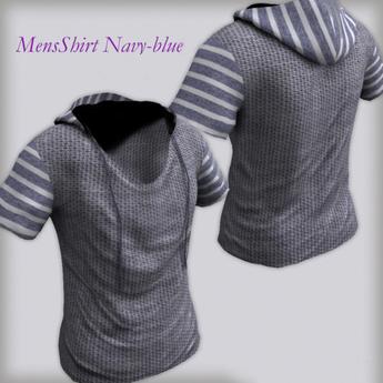 Men's Shirt Navy Blue