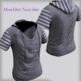 Men's Shirt  NAVY-BLUE