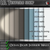 LR Ocean Escape Interior Walls,30 fullperm textures,seamless interior walls