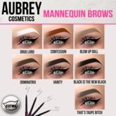 "Aubrey Cosmetics // The ""Mannequin"" Eyebrows Applier"