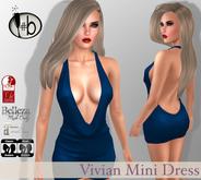 #b Vivian Blue Mini Dress