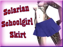 +Nelaware+ Solarian Schoolgirl Skirt