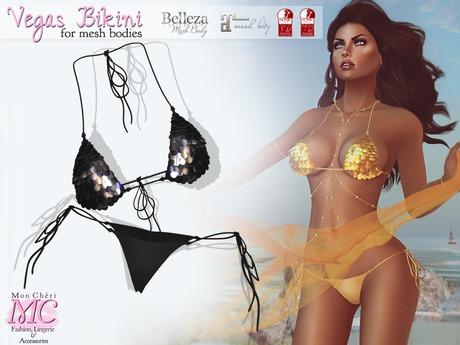 *MC* Vegas Bikini - Black -
