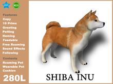[TomatoPark] Shiba Inu Mesh 3.3 ( roaming + wearable )
