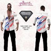 ::Sweet Intoxication:: Stars & Stripes Outfit - White - Aesthetic/Niramyth