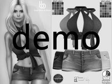 Bens Boutique - Emel Shirt & Short - Hud Driven Demo