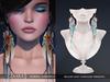 Zaara : Sarika feather earrings *pastel*