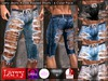 LARRY JEANS - Jeans 235b Ripped Shorts (6 Colors)