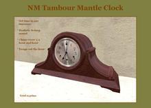L$10 Tambour Mantle Clock