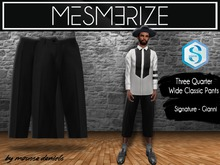 Classic Wide Quarter Pants for [Signature]Gianni - Mesmerize