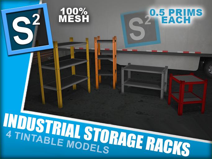 S2 Industrial Storage Racks