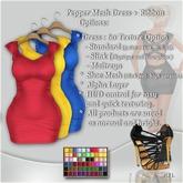 !Soul-Dress  Pepper (Standard,Slink,Maitreya )*60 texture Set 1