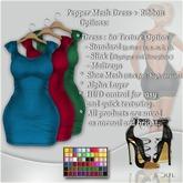 !Soul-Dress  Pepper (Standard,Slink,Maitreya )*60 texture Set 2