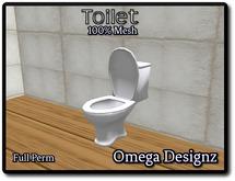 Mesh Toilet Full Perm
