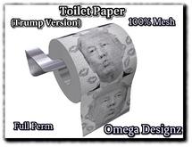 Mesh Toilet Paper Full Perm (Trump)