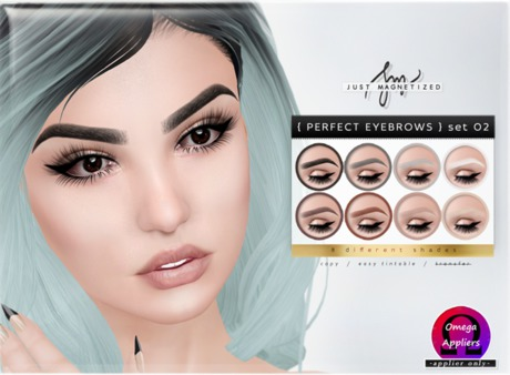 Just Magnetized - Perfect Eyebrows - set 02 for OMEGA