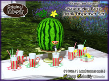 *FG* Watermelon Party {Drink Dispenser Set}