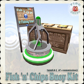 Fish 'n' Chips Buoy Kit - Green