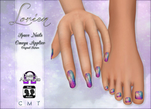 LORIEN SPACE NAILS OMEGA APPLIER GIFT