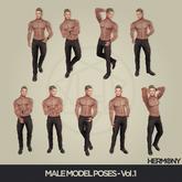 HERMONY / MALE MODEL POSES / VOL. 1