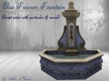 *CdT*Blue Faience Fountain