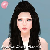 Hair Sophia Dark Brown