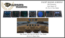 YACHT RADAR SCREENS
