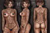 Letis Tattoo :: Laniakea :: Tattoos Bakes On Mesh & Legacy Maitreya and more Appliers