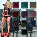 Flg hud shorts carol bang   10 models