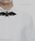 F I N E S M I T H -bat brooch gift