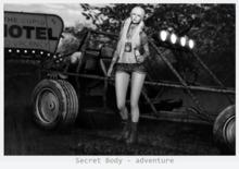 Secret Body - adventure pose
