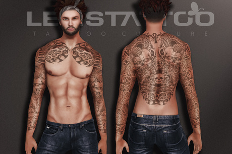 Letis Tattoo :: Eliphas :: Tattoos Bakes On Mesh & Legacy Signature and more Appliers