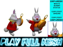 **White Rabbit Statue**PlayFullMesh
