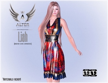 ::ALTER:: Liah [Boho Chic Rigged Mesh Dress] .BOX.