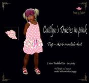 Caitlyn's Daisies in pink kk